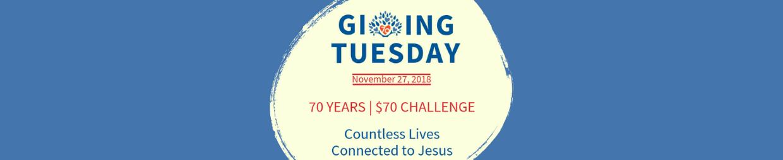 Giving Tuesday November 27, 2018