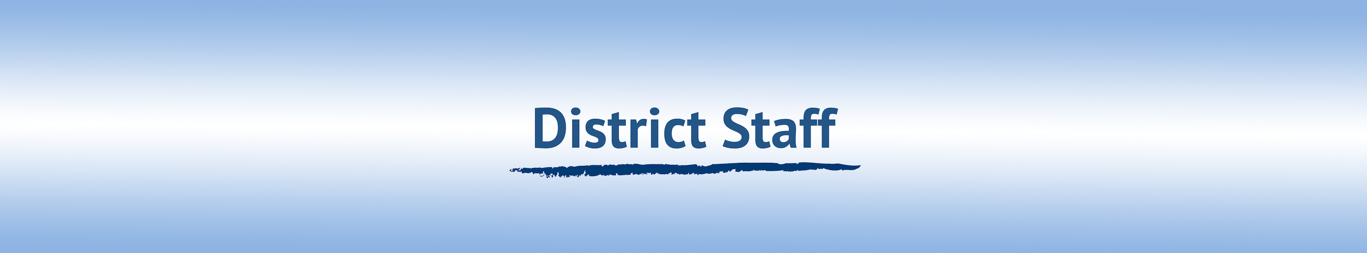 District Staff